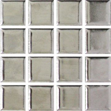 Waxman CX-901 Silver - Ceramic Pool Tiles - 10 Sheet Pack